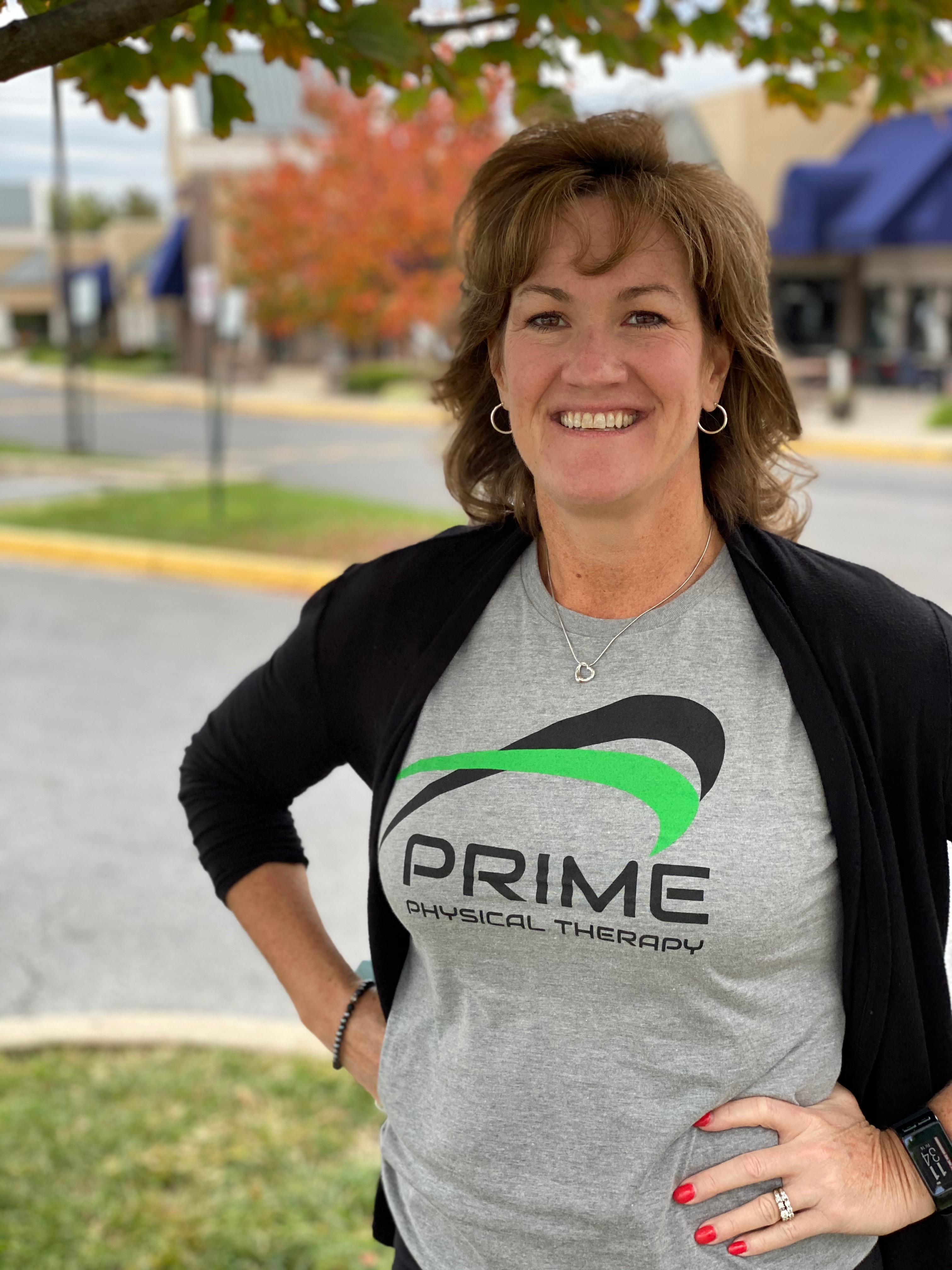 Krista Hillis biography photo, office manager at PRIME Physical Therapy
